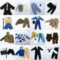 3 sets Doll Outfit Plug Suit Winter Dress army combat uniform Leasure Wear Clothes Accessories For