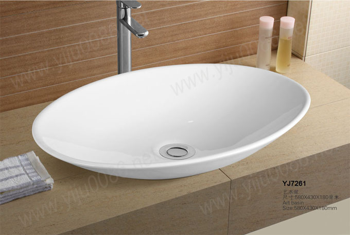 Small Wash Basin Price : Ceramic Small Counter top Oval Wash basin Cabinet Basin Bathroom Sink ...