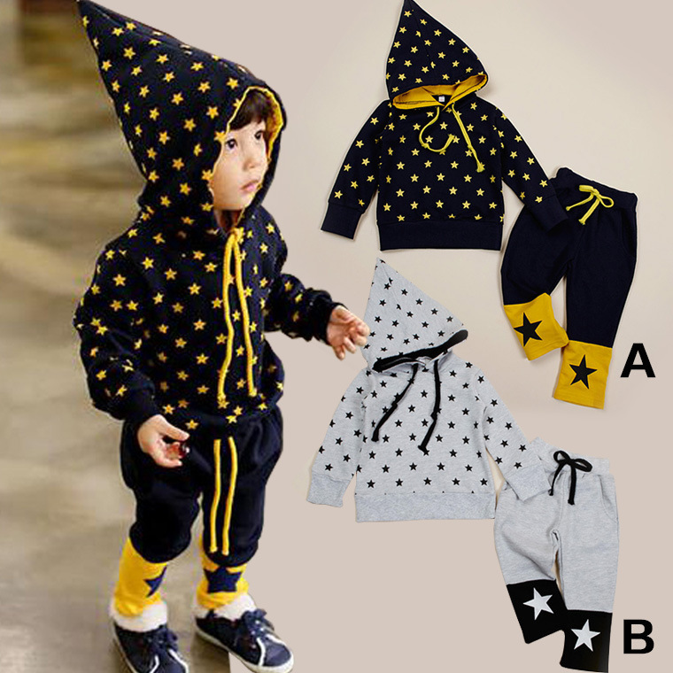 [C565D]2014 autumn new models boys girls clothing set children's casual set brand kids sport suit free shipping(China (Mainland))