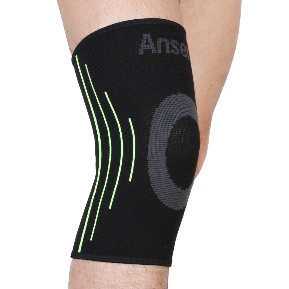 Elastic Sports Leg Knee Support Brace Wrap Protector Knee Pads Protector Safety Kneepad Sleeve Cap Patella Guard Volleyball Knee(China (Mainland))