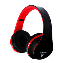 Consumer Electronics Folding Stereo Bluetooth Headset With TF Card, FM Radio Wireless Bluetooth Headphones For iPhone Your Phone