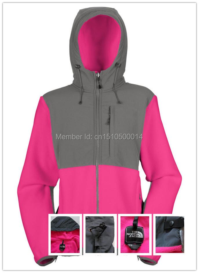 2015 Spring Women Cardigan Fleece Hoody Collar Waterproof Denali Sweatshirts Sportswear Sudaderas harajuku Hoodies