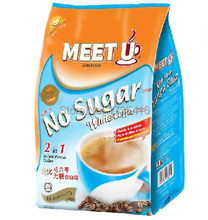 Malaysia Meetu chum sugar imports Fu bitter white combo instant coffee instant coffee 375g Free Shipping