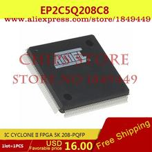 Integrated Circuits Types EP2C5Q208C8 IC CYCLONE II FPGA 5K 208-PQFP EP2 2C - Chips Store store