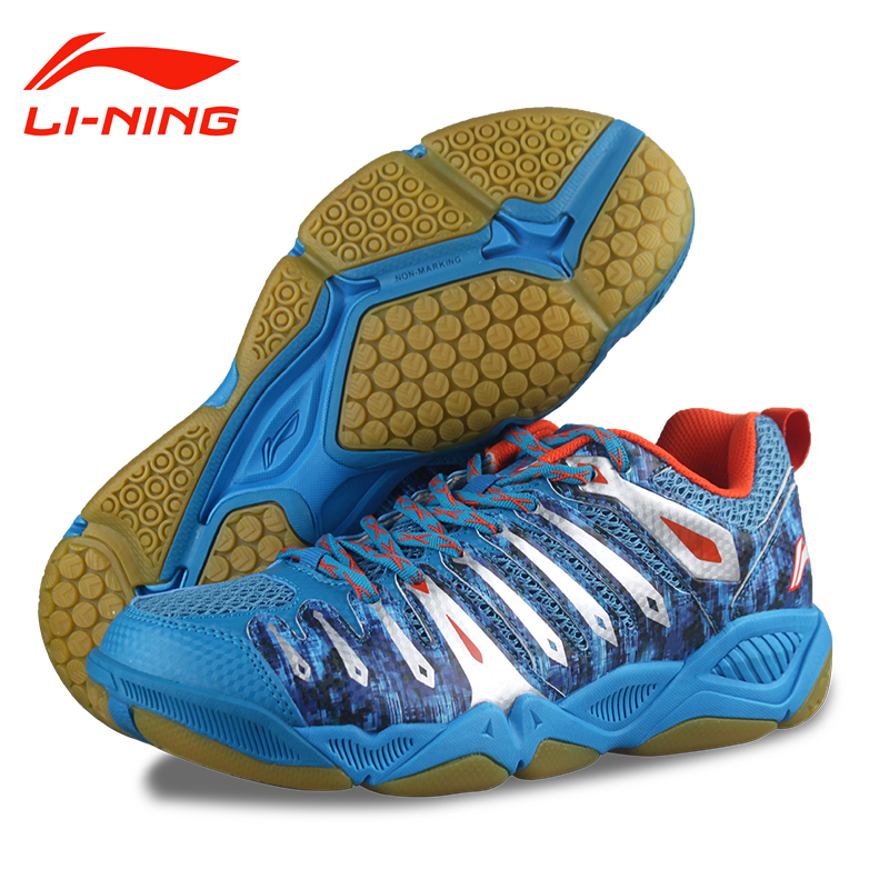 100% Original New 2015 lining AYTJ057 Professional Men's Badminton <font><b>shoes</b></font> <font><b>tennis</b></font> <font><b>Shoes</b></font> AYTJ057 Free Shipping