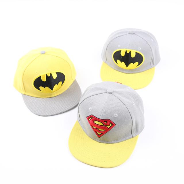 Cpam мультики snapback, Вышивка ребенок бейсболка, Супермен детский шляпы, Милый шляпу денщик