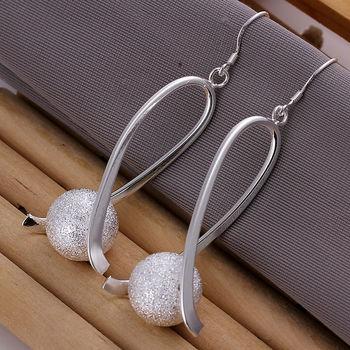 Ювелирные изделия, 925 серебро стерлингового серебра серьги, Le133