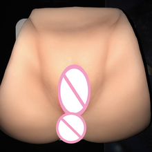 Buy 1:1 realistic vagina/anal pussy male masturbator fake big ass sex toys artificial vaginas sextoys adults men masturbators
