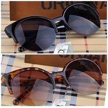Fashion Cat Eye Sunglasses Women Vintage Semi-Rimless Sun Glasses Gafas Inspired Round Circle Sunglass oculos de sol feminino(China (Mainland))