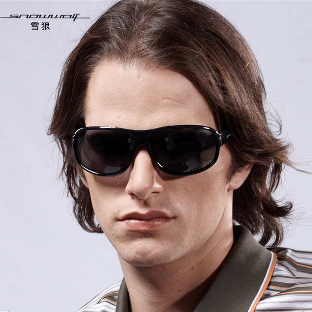 The left bank of glasses polarized sun glasses male driving mirror male sunglasses cool sw520
