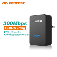 COMFAST-WR300N Wireless Wifi Repeater 300Mbps Network Wi fi Router Expander Wi-fi Roteador Signal Extender Repetidor US/EU plug(China (Mainland))