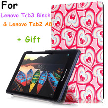 Buy 2016 New Tab3 8 inch Tablet (Not yoga3 g50f) Painted Case Flip Cover Lenovo Tab3 Tab 3 8 inch Tablet case Tab2 A8 for $5.73 in AliExpress store