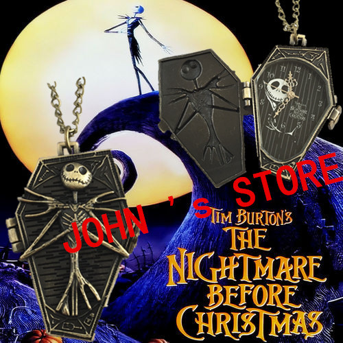 Freeshipping wholesale 20pc a lot The nightmare before chirstmas necklace SDY1112<br><br>Aliexpress