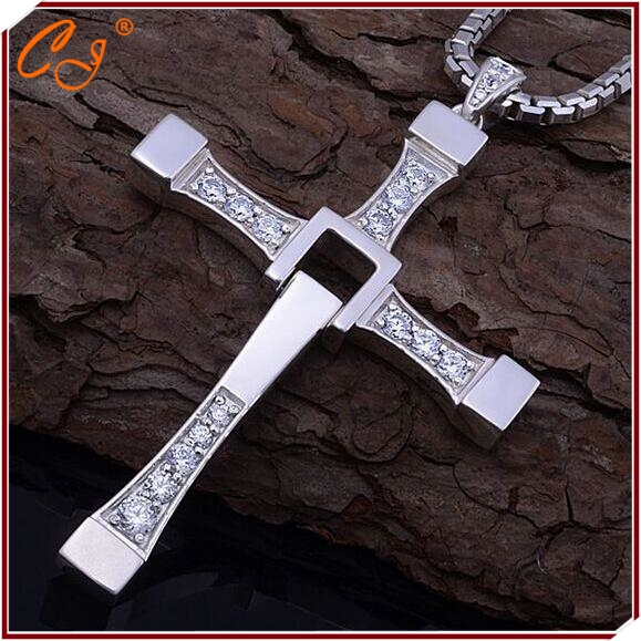 product Fast and Furious Necklace Man Cross Necklace Man Praying Holy Article Vin Diesel Necklace