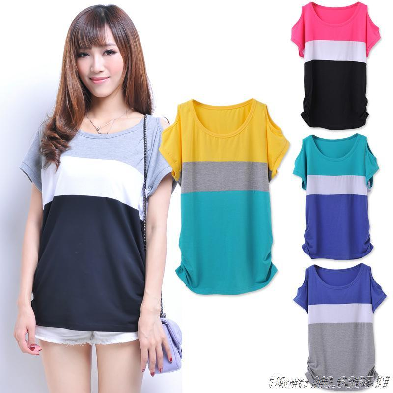 Wholesale Hot Sale T Shirt Women Korean Summer Tops