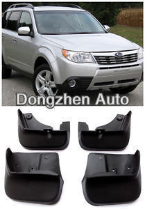 Free shipping Mud Flaps Splash Guard Fender Fit for Subaru Forester 2008 2010 2011 2012 New(China (Mainland))