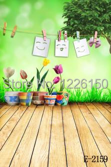 Free 10ft x 10ft interior wood floor photo studio photography baby backdrops E-2159,perfect  vinyl backdrops for wedding , kids<br><br>Aliexpress