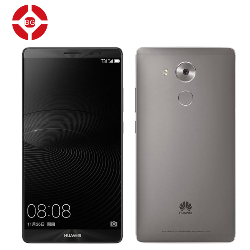 Original Huawei Mate 8 NFC Fingerprint 6 inch Mobile Phone 3GB/4GB RAM 32GB/64GB/128GB ROM Octa Core Kirin 950 LTE Dual SIM(China (Mainland))