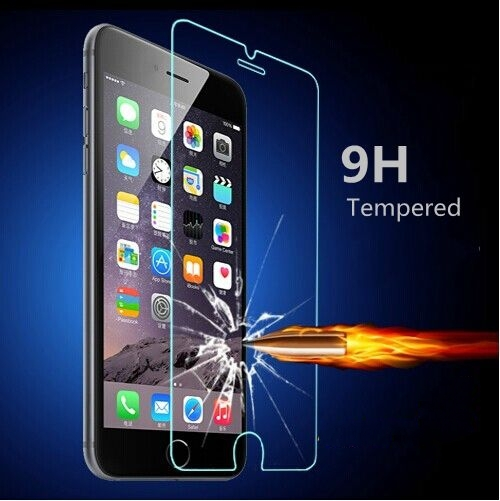 Ultra thin Tempered Clear Glass Screen Protector Case for Apple iphone6 6S 4.7 / Plus 5.5 Front Film, Retail Box for iphone 6 6S(China (Mainland))