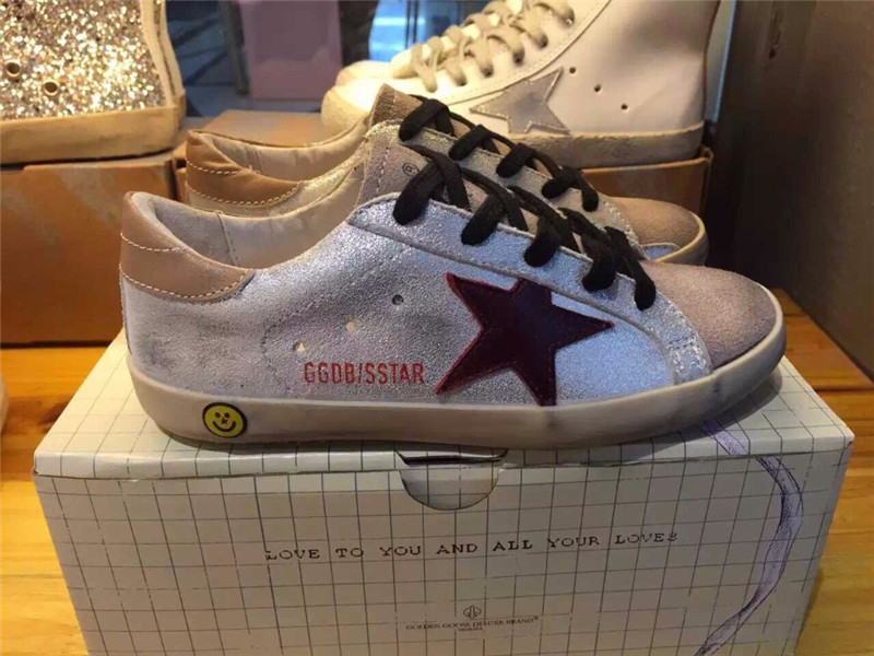 Italy Original Golden Goose Deluxe Brand Shoes Women Men Handmade Genuine Leather GGDB Superstar Smile Shoes Scarpe Marca Famosa<br><br>Aliexpress