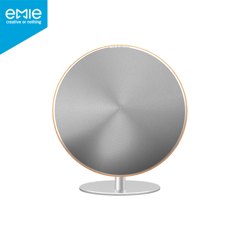 EMIE Solo One Wireless Speaker Subwoofer Bluetooth 4.0 NFC 2.0 Channel Music Player with Touch Surface 3.5mm Audio Plug(China (Mainland))