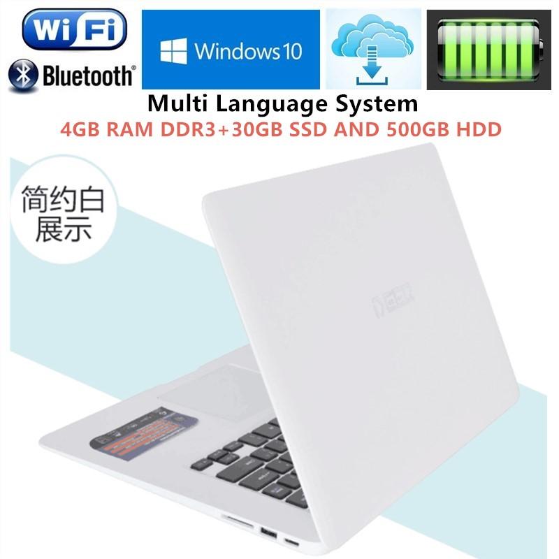 "4GB RAM+30GB+500GB HDD 14.1""Windows10 notebook PC Ultrabook Laptop Intel Celeron j1900 Quad Core 2.0GHz USB 3.0 Port on for SALE(China (Mainland))"