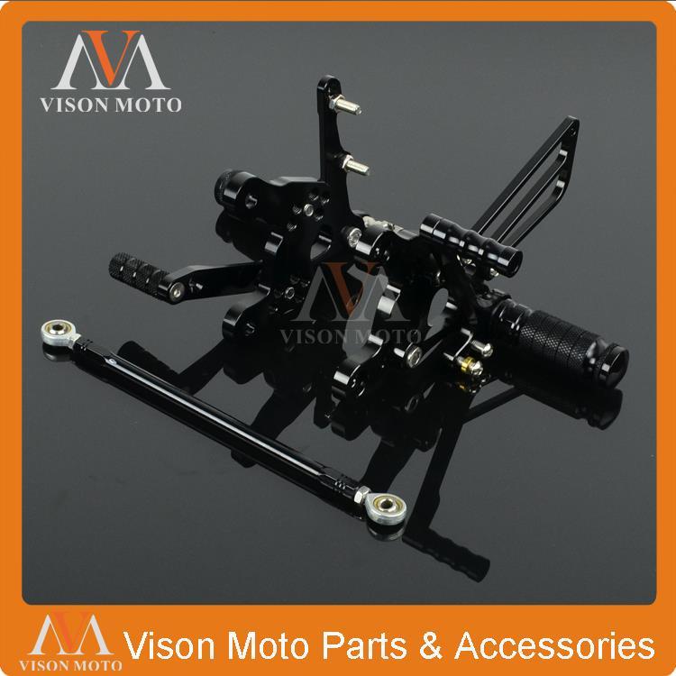 CNC Adjustable Rearsets Foot Pegs Rear Sets Honda CBR893RR SC28 92 93 94 95 CBR919RR SC33 96 97 98 99  -  VM parts store