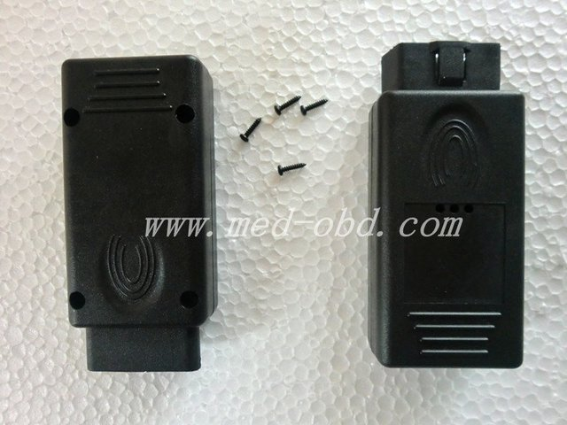 OBD2 Connector J1962m Plug with  enclosure 16pin male connector