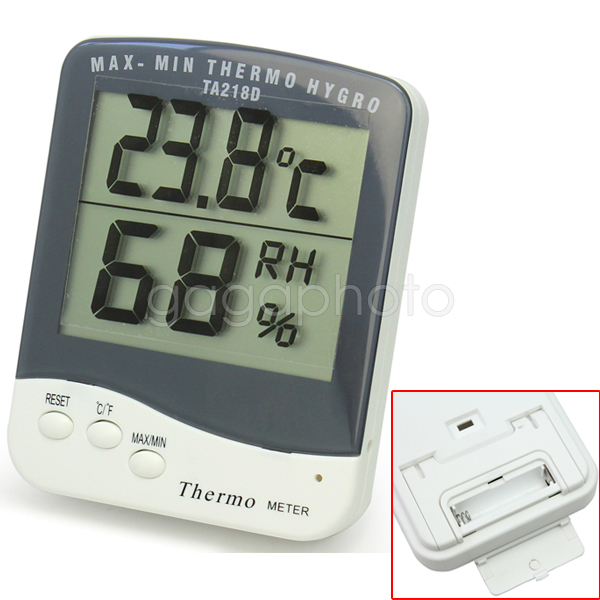 Digital LCD  C/F Thermometer Hygrometer Temperature Humidity Meter Indoor Room<br><br>Aliexpress