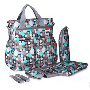 Free Shipping! floral 3 colors 2016 Functional Maternidade Bag Baby Diaper Bags Nappy Changing Bags For Mummy With Big Capacity(China (Mainland))