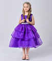 2016 New fashion princess Girls New Arrival Little Girl Ball Gown Scoop Wedding First Holy Girls