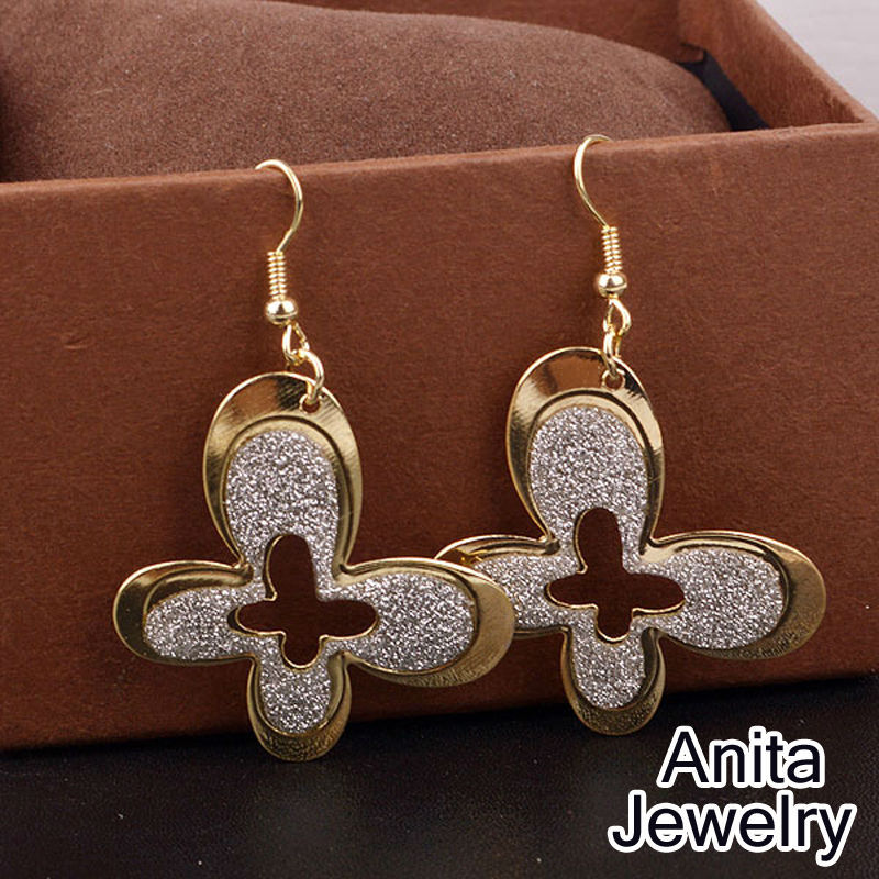 2015 new earrings for women long eardrop big earrings african style iris and key modelling Design and style fashion jewelry