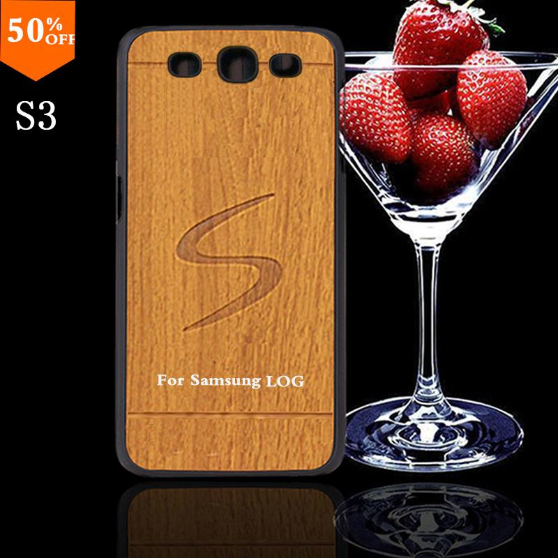 2016 wood case for samsun samsung galaxy s3 s 3 i9300 wood skin case with hard by cover mobile phone wooden covers free shipping(China (Mainland))