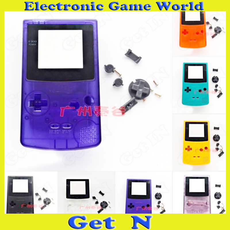 5pcs Shell Case Cover Replacements Parts for Nintendo GameBoy Color GBC Console Full sets Housing<br><br>Aliexpress
