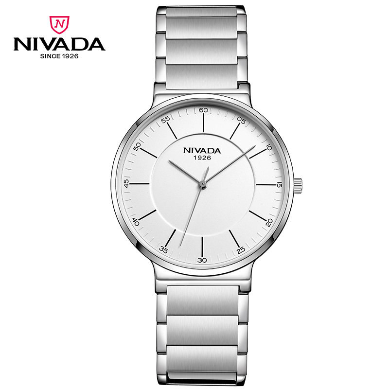 Фотография Nivada Luxury Brand Top Sale High Quality Stainless Steel Strap Classical Bussiness Quartz Watch for Men GQ/LQ8050