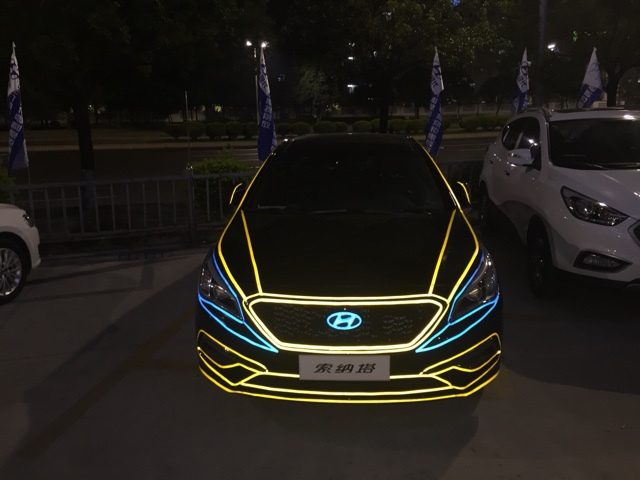 1 0CM x 45Meter safety stickers 3M Reflective Sticker Automobile luminous strip car motorcycle Decoration Decals