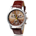 FHD New Luxury Fashion Crocodile Faux Leather Mens Analog Watch Watches