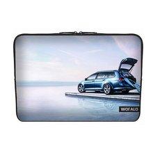 aptop Sleeve Case Bag Cover Neoprene for Macbook/Netbook/Laptop/ Notebook/ Ultrabook Volkswagen Golf cars Travel Edition(China (Mainland))