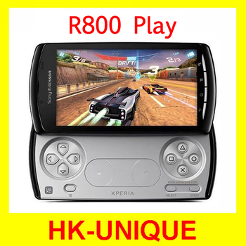 wholesale Sony ericsson Xperia PLAY R800 Zli 3G network 4.0 inch GPS WIFI 5MP Camera smartphone in stock Free Shipping