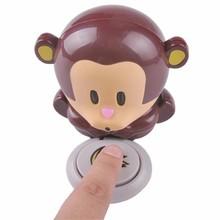 Free shipping, new cartoon monkey nail polish, nail polish hair dryer(China (Mainland))