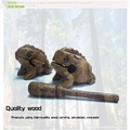 Sound wooden toys Adult tricky toys wood frog toy room decoration creative kids gifts wooden pet