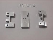 DIY 3d printer Maker aluminium x side engine + yextruder transport + y car kit / set block 3d printer accessories(China (Mainland))
