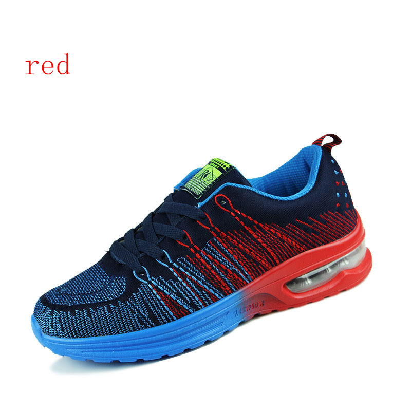 2016 Fashion Design Men Running Shoes New Brand Breathable Lace-up Non-slip Men Shoes Sneakers ShoesA56 Outdoor Sport Shoes<br><br>Aliexpress