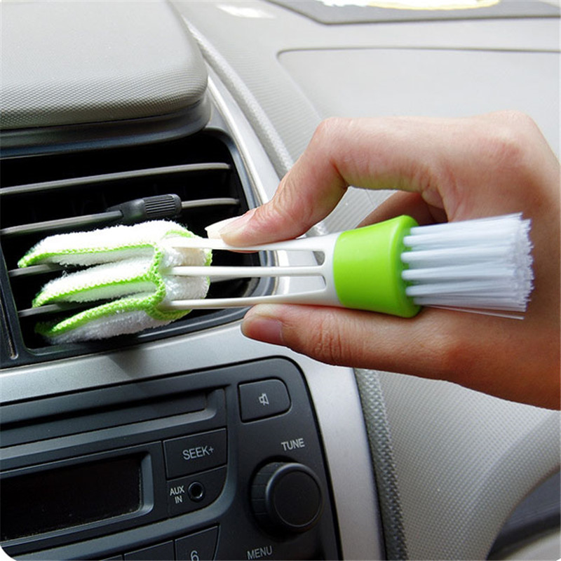 Pocket Brush Keyboard Dust Collector Air-condition Cleaner Window Leaves Blinds Cleaner Duster Computer Clean Tools GI872464(China (Mainland))