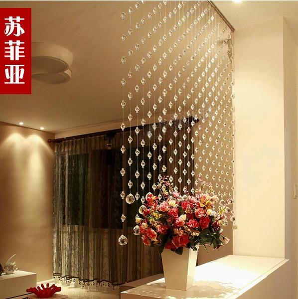 Декоративная штора в интерьере