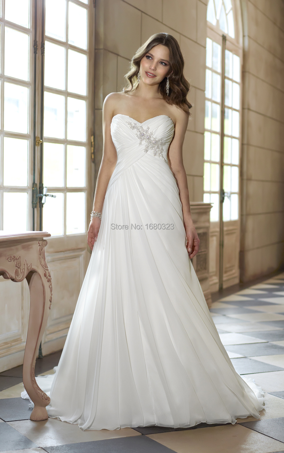 wedding dresses sweetheart neckline flowy flowy wedding dresses Wedding Dresses Sweetheart Neckline Flowy