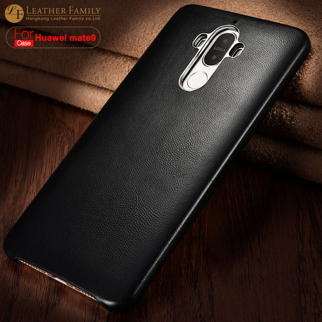 For Huawei Mate 9 Case Ultra thin luxury genuine sheep skin Protector back Case for Huawei Mate9 Cover with Magnetic phone Shell