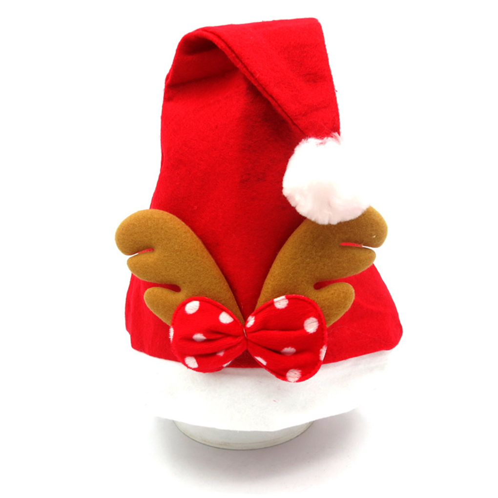 Hot!!!Santa Reindeer Kids Christmas Hat Christmas Gifts For Children New Year Gift(China (Mainland))