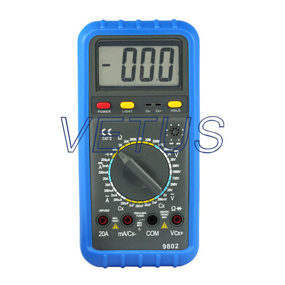 2nF~200uF Capacitance Manual Range Digital Multimeter DMM HP-9802 HP9802<br><br>Aliexpress