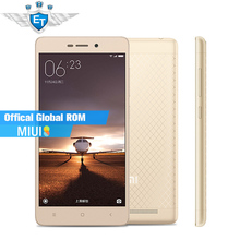 "Original Xiaomi Redmi 3 Android Cell Phone Snapdragon 616 Octa Core 5.0"" 1280x720 2GB RAM 16GB ROM 13.0MP 4100mAh Metal Body(China (Mainland))"